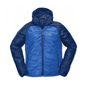 big agnes farnsworth hooded jacket - men's-snorkel blue/poseidon-small- Save 33% Off - Big Agnes Men's Apparel Clothing Farnsworth Hooded Jacket - Men's-Snorkel Blue/Poseidon-Small. This jacket is Insulated with Pinneco Core which is designed to be more breathable thermally efficient and sustainably engineered than other insulation options. The fit is relaxed with a stylish slanted-quilt design which eliminates bulk and allows for layering underneath. All the while providing excellent range of motion whether you're firing up the Jetboil at sunrise or catching magic hour fish on the north fork.