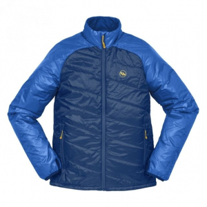 big agnes ellis jacket - men's-snorkel blue/poseidon-medium- Save 33% Off - Big Agnes Men's Apparel Clothing Ellis Jacket - Men's-Snorkel Blue/Poseidon-Medium. This jacket is Insulated with Pinneco Core which is designed to be more breathable thermally efficient and sustainably engineered than other insulation options. The fit is relaxed with a stylish slanted-quilt design which eliminates bulk and allows for layering underneath. All the while providing excellent range of motion whether you're rowing out of a canyon at dusk or pedaling home after last call.