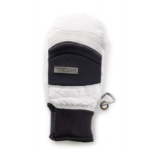 hestra ski cross mitt - men's-off white/black-small- Save 33% Off - Hestra Men's Accessories Ski Cross Mitt - Men's-Off White/Black-Small hes0025OffWhite/Black6. Supple model with good flexibility and a firm pole grip.