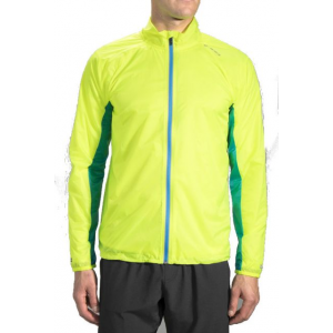 brooks lsd jacket - men's-nightlife/ultra blue-small- Save 33% Off - Brooks Men's Running Apparel LSD Jacket - Men's-Nightlife/Ultra Blue-Small 762053E+11. Brooks/Moving Comfort lightest-weight windproof and water-resistant men's running jacket is like an insurance policy for your run on days when the weather looks iffy. Pack it up and use the armband for hands-free portability and a hit of reflectivity. Then if dark clouds turn on you this full-zip design with chin guard and draft flap keep you protected while front and back retroreflectivity makes you visible in low light.
