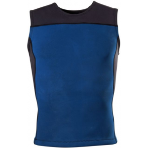 prana waymann wetsuit vest - men's-black-small- Save 52% Off - Prana Men's Paddle Tops Waymann Wetsuit Vest - Men's-Black-Small M1WAYM116BLKS. Color blocked detail has immediate and long lasting style. 2mm hyper-stretch neoprene is bonded with recycled poly and spandex at interior and exterior for comfort and UPF 50+ rated for sun protection. Seams are flat-locked to prevent chafing while also providing durability and flexibility.