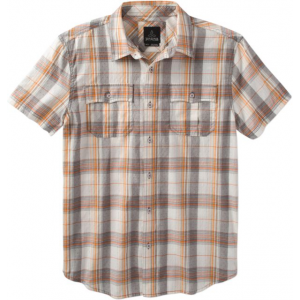 prana ostend shirt - men's -winter-small- Save 32% Off - Prana Men's Top Ostend Shirt - Men's -Winter-Small M11170301WNTS. The PrAna Ostend Shirt is 55percent organic cotton and designed so you can move freely. Fair Trade Certification supports better working conditions for the factory workers who make it through investment of a premium of each item sold into social development projects.