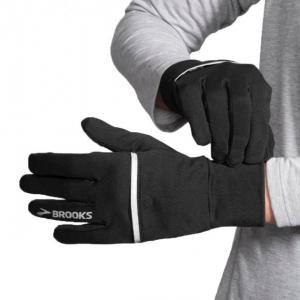 brooks threshold running glove ,black/asphalt, small, 025- Save 25% Off - Brooks Climb Threshold Running Glove Black/Asphalt Small 025 280379019.