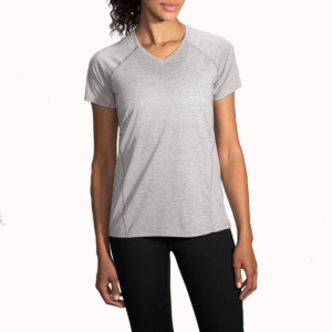 brooks distance short sleeve running shirt - women's-heather sterling-small- Save 25% Off - Brooks Run Distance Short Sleeve Ning Shirt - Women's-Heather Sterling-Small 221178009. The semi-fitted cut and rainbow of available colors add style and versatility.