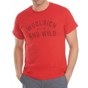 woolrich hayes run graphic tee-canoeing sheep-large- Save 40% Off - Woolrich Men's Top Hayes Run Graphic Tee-Canoeing Sheep-Large 8305CSELMD. made in specialized factories this is a great all-around t shirt.