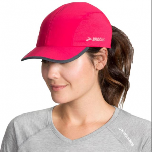 brooks run-thru running hat, dahlia/asphalt, one size fits most, 010- Save 25% Off - Brooks Men's Accessories Run-Thru Running Hat Dahlia/Asphalt One Size Fits Most 010 280337678.