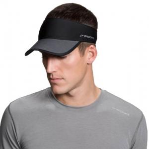 brooks run-thru running visor, asphalt/black, one size fits most, 010- Save 25% Off - Brooks Men's Accessories Run-Thru Running Visor Asphalt/Black One Size Fits Most 010 280338012.