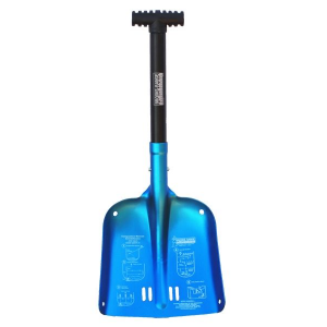 brooks-range mountaineering compact shovel-blue- Save 2.% Off - Brooks-Range Mountaineering Avalanche Safety Compact Shovel-Blue 24017000. You never know when you might need it. The Compact Shovel is small light weight and will fit into your pack with ease. Made from 6061 T6 Aluminum for increased durability.