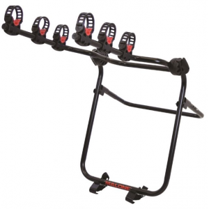 malone runway spare t3 - spare tire mount 3 bike carrier- Save 10% Off - Malone Car Racks Runway Spare T3 - Spare Tire Mount 3 Bike Carrier MPG2148. Made of steel with soft rubber cradles and 2 webbing straps the MPG2148 adjusts to fit a variety of tire widths. The arms have an offset design to accommodate tires mounted on either the right rear or left rear of vehicle. Two quick-release hubs provide arm angle adjustment. Folds flat for storage. Comes fully assembled with a Lifetime Warranty. Features/Specifications: Features:. Three bike capacity. All steel construction for a confident transport. Two webbing straps anchor the carrier to the spare tire. Right or left wheel offset. Folds flat for storage. Three way adjustment for tire width Specifications:. Load Capacity: 33lb per bike x 3 bikes. Weight: 14 lbs. Dimensions: 22in x 45in x 35inBikes can be locked to carrier if use MPG 2168 Loop Lock 1. Sold separatelyNot compatible with tandem recumbent and electric bikesMay need to use MPG2165 top tube adapter with step through frames or other unconventional frames. Sold separately. Included Accessories: . (1) Carrier Frame with Straps and Cradles (Fully Assembled). (1) Cam Buckle Load Strap. (1) Instruction Manual