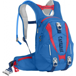 camelbak solstice lr 10 mountain bike pack, carve blue/fiery coral- Save 38% Off - Camelbak Backpacking Packs Solstice LR 10 Mountain Bike Pack Carve Blue/Fiery Coral 1135401000. The Solstice is a full-featured pack that shifts your loadand most importantly your water supplydown towards your waist. That small change gives you a lower center of gravity and a wider range of motion which makes it easier to maneuver as youre barreling downhill. The Solstice also stores enough water and gear for a full day on the trail: a 3-liter Crux reservoir helmet hooks attachment points for soft armor and a tool roll to keep your gear organized. We designed the Solstice specifically for women with an S-shaped harness that curves comfortably around your chest and a slightly shorter back panel for a more ergonomic fit.Features The brand new Crux LR reservoir delivers 20percent more water per sip while keeping weight positioned low on your back which translates to better stability in the saddle and on the trail. Magnetic Tube Trap keeps your tube secure and accessible when you need it Stabilizing load-bearing hip belts with cargo optimizes a custom fit and keeps essentials close at hand Separate zippered compartment with gear organizer and tool roll. Dual reservoir compression straps cinch the reservoir into the small of your back for a tight stable fit Stretch overflow storage compartment lets you easily stash a rain shell or extra layer Reflective accents for visibility in low-light environments Women's-specific design features a shorter back panel and an S-curved harness for a closer fit