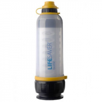Icon LifeSaver 4,000UF Water Filtration Bottle-Clear
