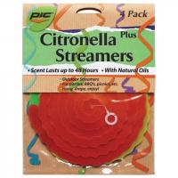 Pic Corp Citronella Streamers 4pk