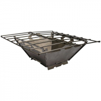 Vargo Fire Box Grill Stainless Steel