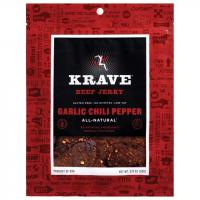 Krave Jerky Garlic Chili Beef