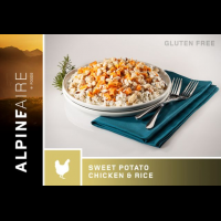 Alpine Aire Foods Sweet Potato Chicken and Rice, 6 oz