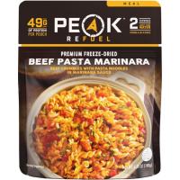 Peak Refuel Beef Pasta Marinara - 2 Serving Pouch, Black