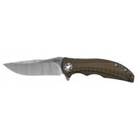 Zero Tolerance RJ Martin Kvt Folding Knife, Brown