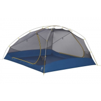 Sierra Designs Meteor 4 Person Tent, Light Blue/Yellow, 4 Person