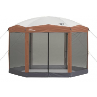 Coleman Back Home Instant Hexagon Screen House, 12 ft x 10 ft 2000004413