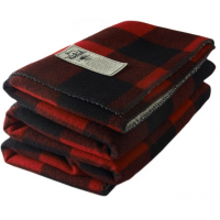 Woolrich Sherpa Rough Rider Blanket-Red