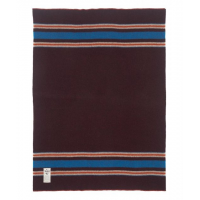 Woolrich Camp Blanket, Burgundy Heather, 50x60