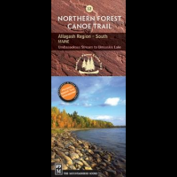 #12 Allagash Region south Me, North Forest Canoe Trail, Publisher - Mountaineers Books