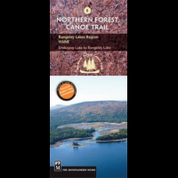 #8 Rangeley Lakes Region Me, North Forest Canoe Trail, Publisher - Mountaineers Books