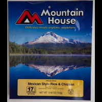 Mountain House Mexican Chicken & Rice - 2 Person