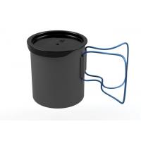 Olicamp Space Saver Mug w/ Lid, Blue