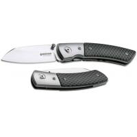 Boker USA Boker Model 10 CG Folding Pocket Knife,3.1in CPM-154 Steel Blade,C-Tec Black Handle