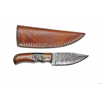 Titan Damascus Fixed Blade Knife 7in TD-099