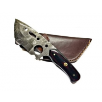 Titan Damascus Steel Clever Style Tanto Blade by Titan TD-175, 4.5in
