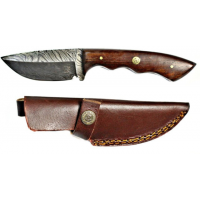 Titan Hand Forged Damascus Camping 9.1 in Knife TD-053