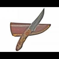 Titan Damascus Skinning Knife by Titan TD-171, 7.3in