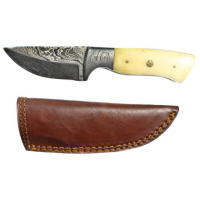 Titan Damascus Fixed Blade Knife 7.3in TD-103