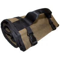 Overland Vehicle Systems Rolled Bag, General Tools, w/ Handle And Straps, #16 Waxed Canvas