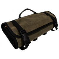 Overland Vehicle Systems Rolled Bag, First Aid, #16 Waxed Canvas