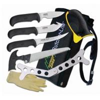 Outdoor Edge Butcher Lite Kit Knife Set, 420 Stainless, 8 Piece Set Blade