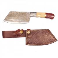 Titan Damascus Steel Hunting 9in KnifeTD-015