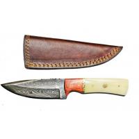 Titan Damascus Steel Fixed Knife 8.2in TD-093