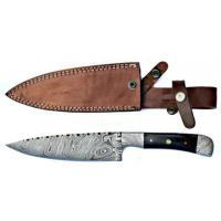 Titan Damascus Steel Fixed Knife 12in TD-057
