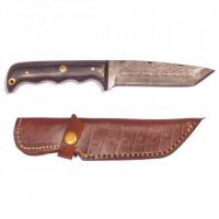 Titan Damascus Steel Hunting 8.2in Knife TD-010