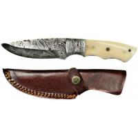 Titan Damascus Steel Fixed Knife 9.1in TD-052