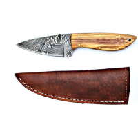 Titan Damascus Steel Fixed Knife 7.8in TD-044