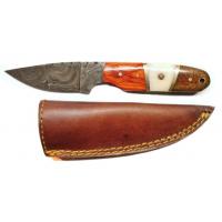 Titan Damascus Steel Fixed 7.4in Knife TD-027
