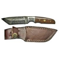 Titan Damascus Steel Fixed 8in Knife TD-026