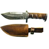 Titan Damascus Fixed Blade Knife 8in TD-105