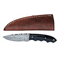 Titan Damascus Steel Hunting 8in KnifeTD-011