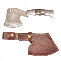 Titan Damascus Steel Hunting 7.6in KnifeTD-004