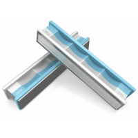 Wicked Edge Grit Diamond Stones and Blank Glass Platens Pack, White/Aqua